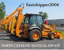 Case 580M 580 M Backhoe Loader Tractor Parts Catalog Manual 580CK ON CD FAST