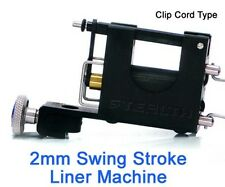 STEALTHLITE LINER 2mm Swing Stroke Rotary Tattoo Machine Supply (Clip Cord)