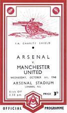 * 1948 Charity Shield - Arsenal v Man Utd *