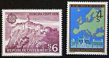 AUTRICHE timbre - Yvert et Tellier n°1402 et 1403 n** stamp Austria(cyn5)