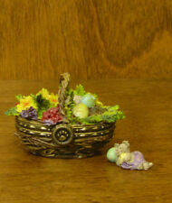 Boyds Treasure Boxes #392171 Suzie's Spring Basket 2 Ed, New Easter Theme