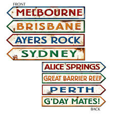 AUSTRALIAN STREET SIGN PLACE NAMES CARD CUTOUTS AUSTRALIA DAY PARTY THEMED DECOR