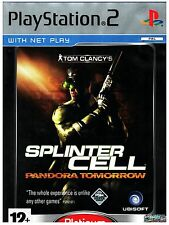 VIDEOGIOCO  PS2  SONY  SPLINTER CELL PANDORA TOMORROW