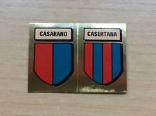 FIGURINE LAMPO / FLASH - CALCIO FLASH '82 - SCUDETTI: CASARANO / CASERTANA - NEW