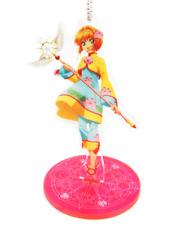 Cardcaptor Sakura Kinomoto Yellow Outfit Character Acrylic Stand Key Chain Anime