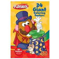 Playskool Mr Potato Head Colouring Poster Book Contains 24 Colouring Posters