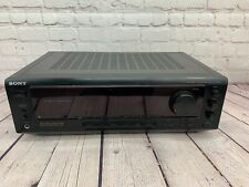Tested Sony STR-DE310 High Power AM Fm Stereo Receiver (200) WattsBass Boost