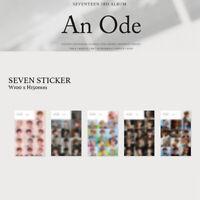 SEVENTEEN - 3rd ALBUM AN ODE SEVENTEEN STICKER - FIRST PRESS ONLY