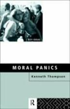 Key Ideas: Moral Panics by Kenneth Thompson (1998, Hardcover)