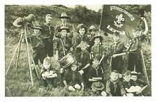 Nostalgia Postcard Boy Scouts 1910 Reproduction Card NS36