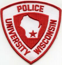 UNIVERSITY OF WISCONSIN WI CAMPUS POLICE PATCH