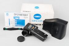 Minolta Spotmeter F Digital Light Meter