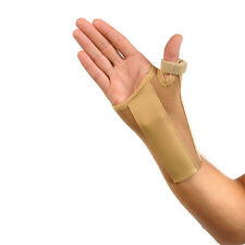 Kendall Wrist Thumb Brace - Left Large - NEW - Beige -Orthopaedic Splint Support