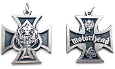 Motorhead Pendant Necklace doble sided Pewter Silver High Quality!