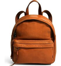 Madewell Mini Lorimer Leather Backpack - English Saddle
