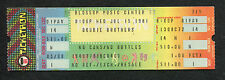 1981 Doobie Brothers unused full concert ticket Cuyahoga Falls Minute By Minute
