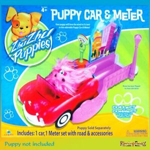 Zhu Zhu Go Go Pets Puppies Puppy Car and Meter Add On Accessory Playset