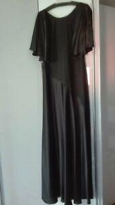Strenesse Abendkleid, Maxikleid 100% Seide, Luxus Pur Gr.42, NEU