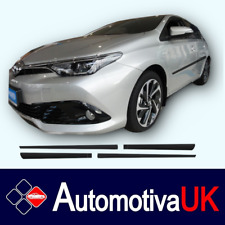 Toyota Auris HB 5D Rubbing Strips | Door Protectors |Side Mouldings Body Kit