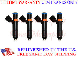 Fuel Injector 04593986AA 04627890AA 4-PACK