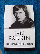 Ian Rankin, The Hanging Garden, uncorrected proof copy