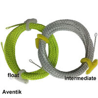 Aventik 90ft Fly Fishing Line Floating Fishing Braided Fly Line 2 Welded Loop