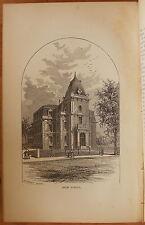 1880 HISTORY OF NEWTON MASSACHUSETTS SINCE 1630, TOWN & CITY Smith ma mass