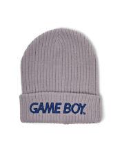 OFFICIAL NINTENDO - GAME BOY LOGO GREY CUFFED BEANIE (BRAND NEW)
