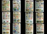 Great Stamp Collection ME Yemen Umm Al Qiwain Egypt Syria Morocco Saudi Arabia