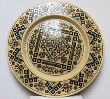 Inlaid Hand made Wooden Plate