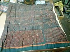 Antique Mughal beautiful hand made cotton child bed /Table Cover/Wall Hanging