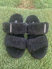 Women's UGG Fuzz Yeah Shearling Slippers Sz 6