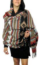 #5000 Soft Premium Silky Wool Shawl Wrap World Market Artisan Classic Earth Tone
