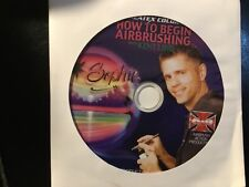 How To Begin Airbrushing by Kent Lind - DVD Createx Colors Airbrush Action