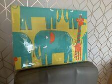 New Next Elephant Toddler Duvet Covet And Pillowcase Green Jungle