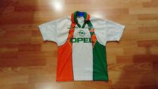 Ireland Umbro OPEL 1990's Football White Shirt - Large Boys
