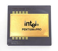 Intel Pentium Pro Chip 200MHz CPU 66MHz 387 Pin Socket 8 KB80521EX200 SY032 256K