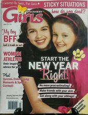Discovery Girls Jan Feb 2017 Pet Issue Start The New Year Right FREE SHIPPING sb