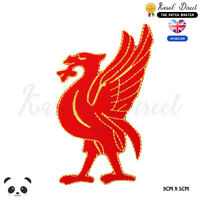 Liverpool Bird  Embroidered Iron On Sew On Patch Badge For Clothes Bags