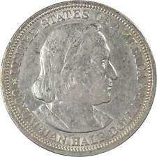 1893 World's Columbian Exposition Commemorative Half Dollar 90% Silver 50c Coin