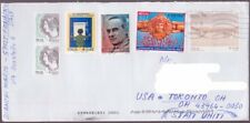 Italy - 2016 -  5 Different Modern Issues on Cover to the US - Some Uncancelled