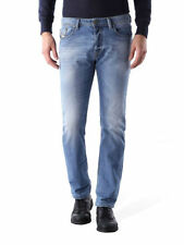 Diesel Cotton Big & Tall Classic Fit, Straight Jeans for Men