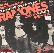 "Ramones We Are Punk Generation 7"" Live EP vinyl rare! Havana Affair Beat on Brat"