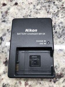 Genuine Original Nikon MH-24 Charger for EN-EL14 Battery D5200 D5300 P7800 P7100