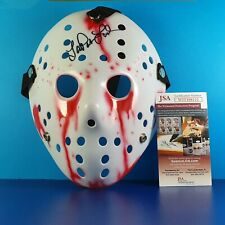 More details for lar park lincoln signed hockey mask friday the 13th jason voorhees autograph coa