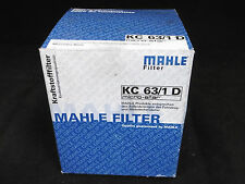 Knecht/MAHLE KC 63/1 D Filtro Benzina, Filtro combustibile, Nuovo, Confezione Originale