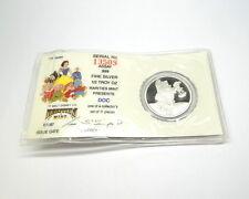 "DISNEY Snow White 50th Anniversary ""DOC"" RM .999 Fine 1/2 oz Silver Medal Coin"