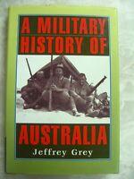 A Military History of Australia by Jeffrey Grey Cambridge University hcdj B56