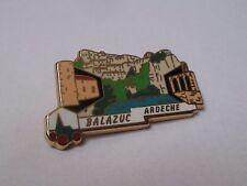 Pin's Balazuc Ardeche (plus beaux villages de France PBVF LB Création)