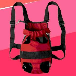 Pet Backpack Dog Carrying Travel Shoulder Large Bags Front Chest Holder Carrier